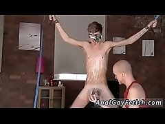Teen gay fetish bondage first time Twink man Jacob Daniels is his