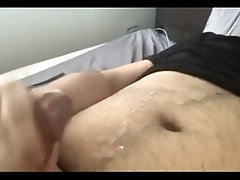 Morning cumshot