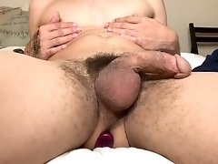 Teen Playing with first Dildo