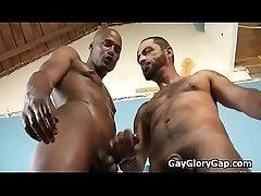 Gay Interracial Gloryhole And Hardcore Fuck Movie 29